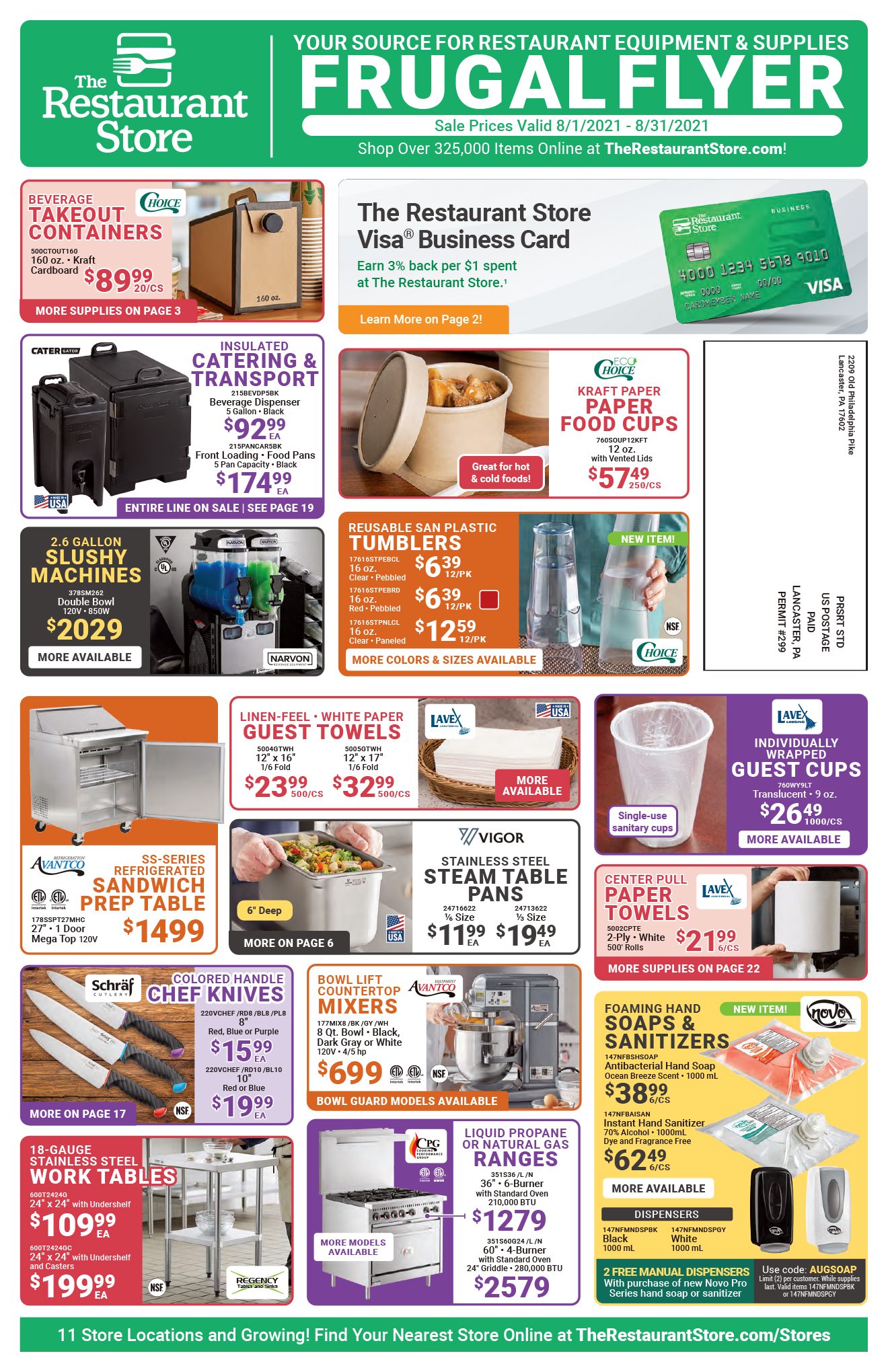 August 2021 In-Store Frugal Flyer