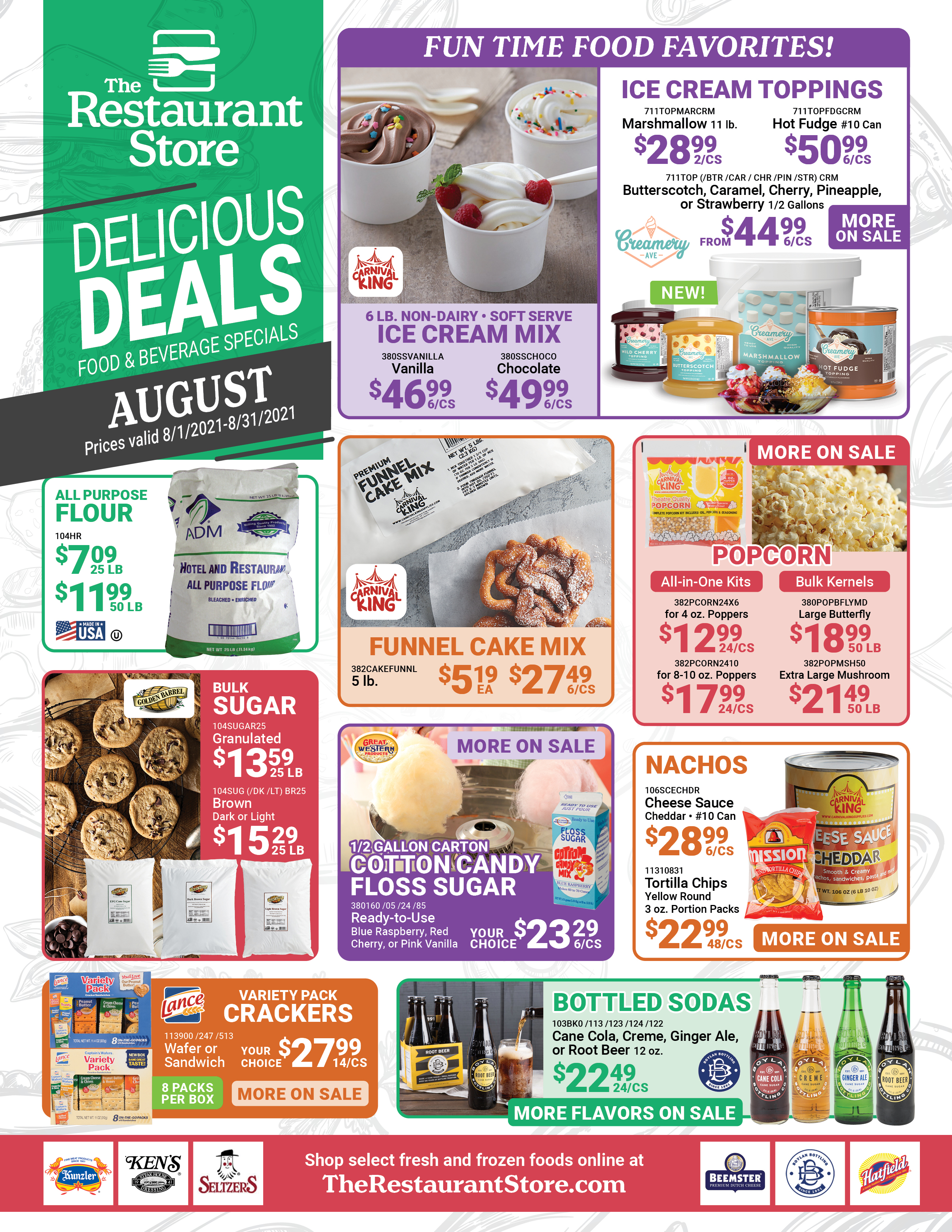 August 2021 Consumables Flyer